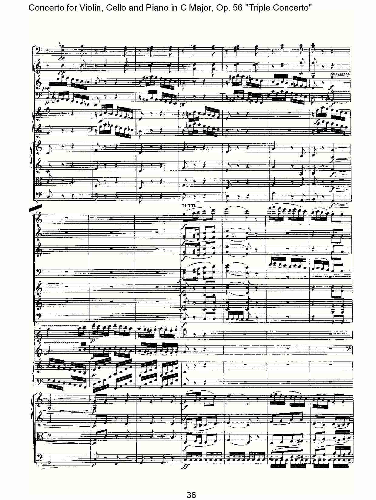 c大调大提琴与钢琴协奏曲 op.56第三乐章(四)