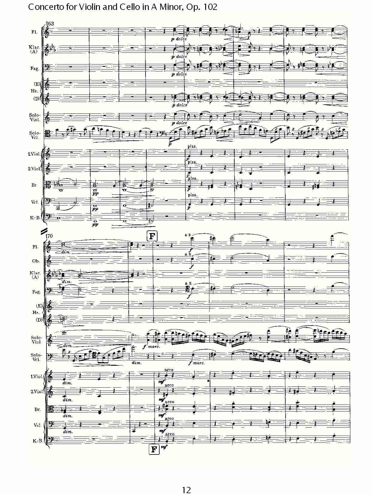 A小调小提琴与大提琴协奏曲, Op.102第一乐章 三