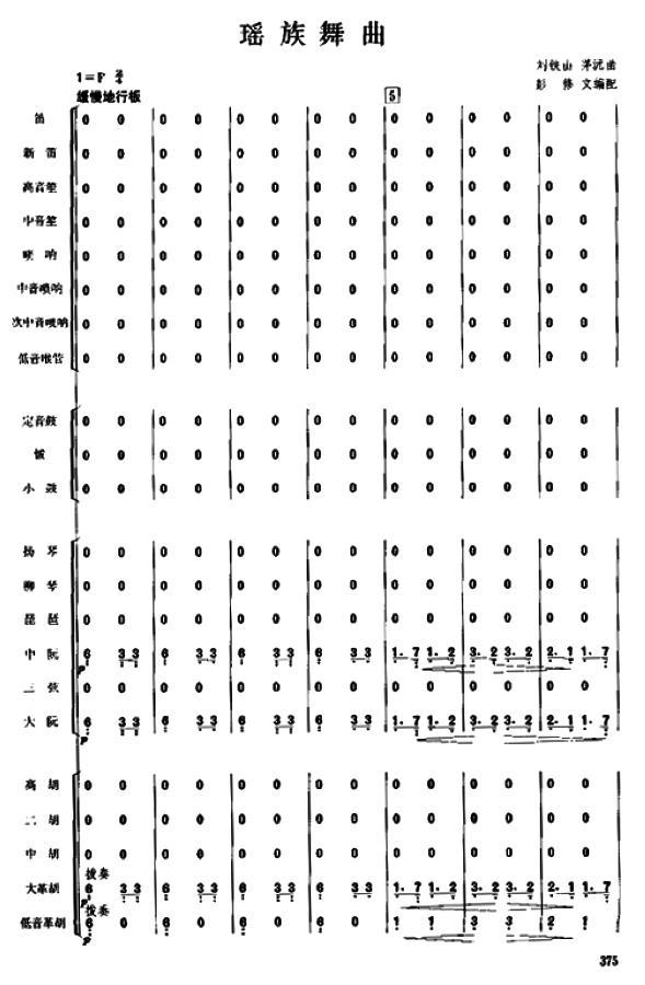 瑶族舞曲375+388(补充)