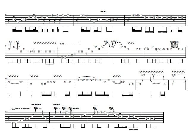 灰色轨迹 吉他谱 用户传谱