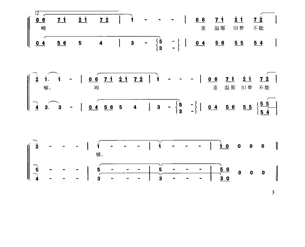 小汤5 教堂管风琴曲谱-当我们小的时候 sycjsw制谱园地