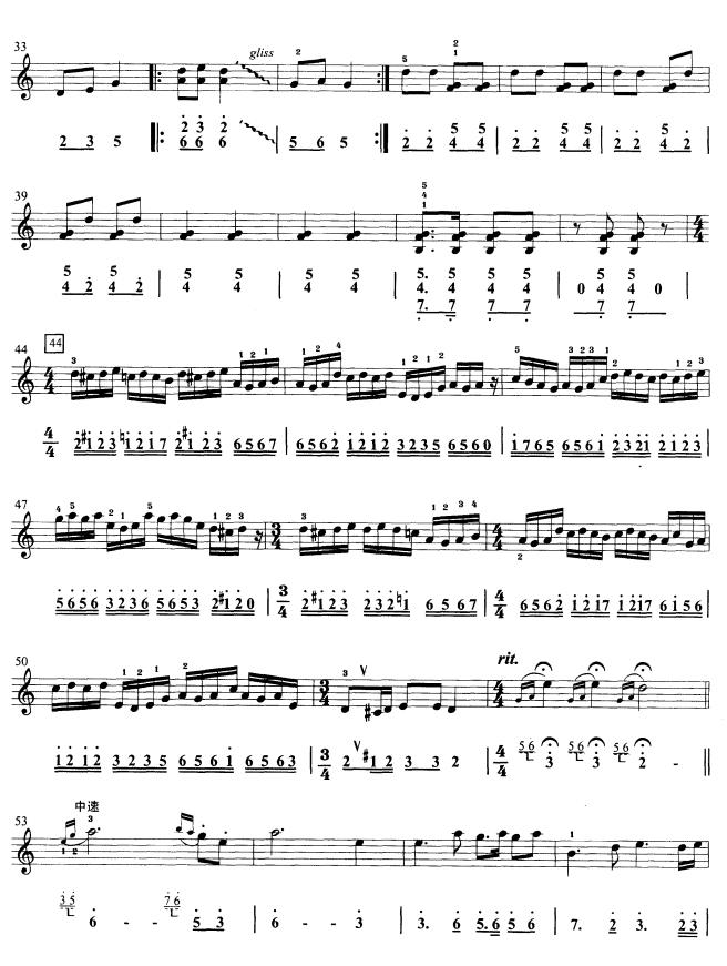 金蛇狂舞(口风琴)2