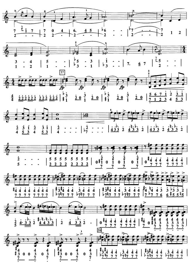 儿童歌可爱的家口风琴简谱