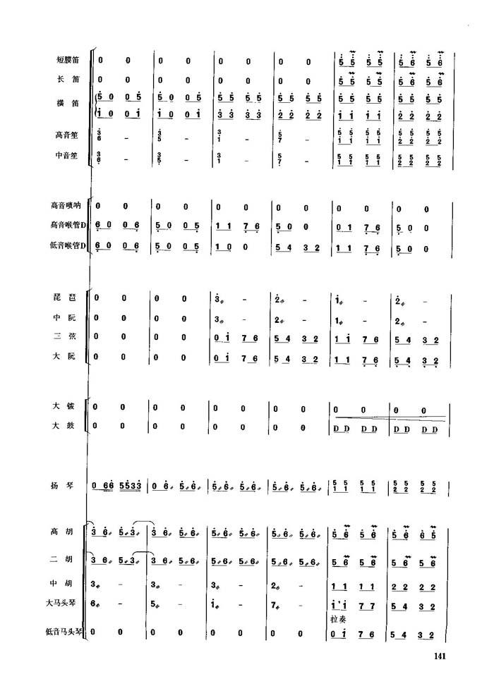 亡灵序曲琴歌的谱子