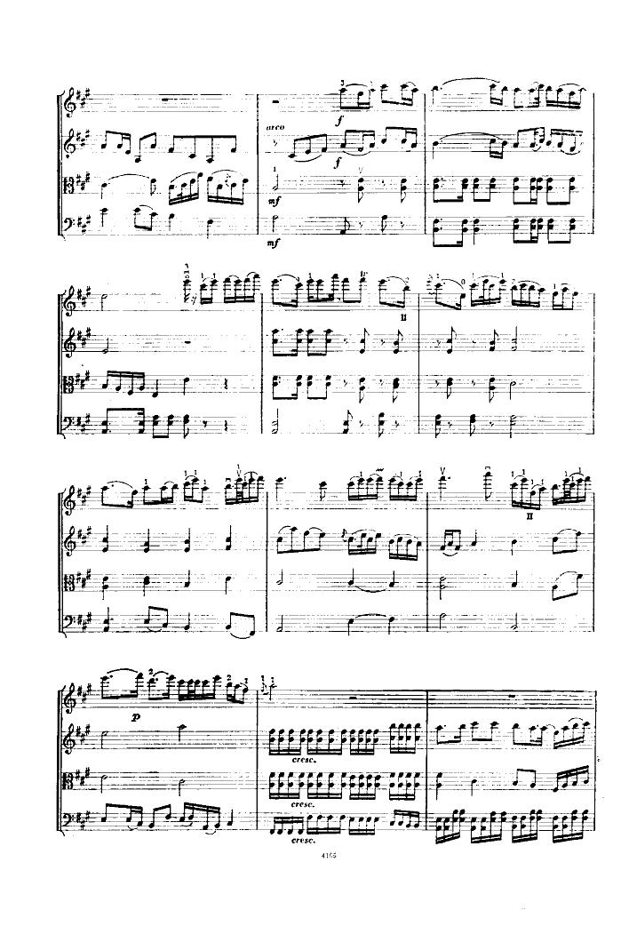 二泉映月(弦乐四重奏)