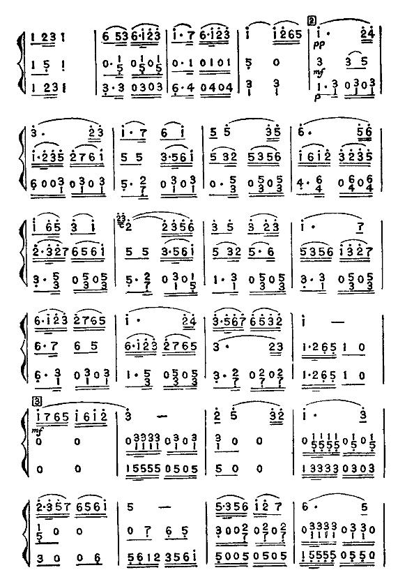 小树叶钢琴谱子-江南好简谱 小叶子159制谱园地