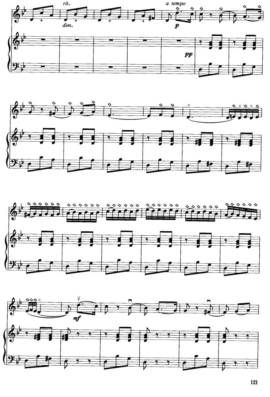 卡门主题幻想曲 钢伴谱 6