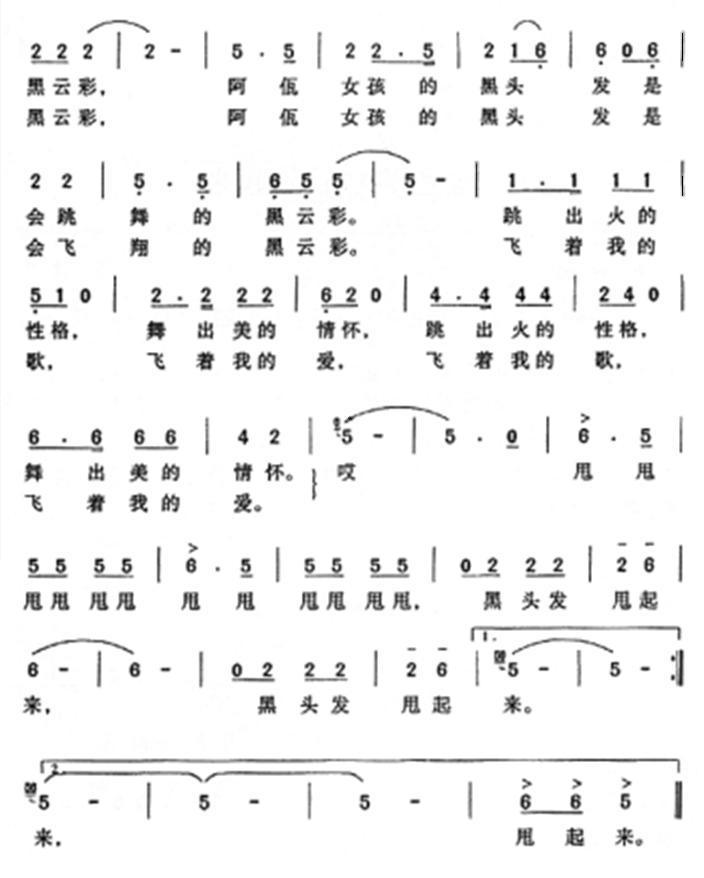 小树叶钢琴谱子-敲起来简谱 小叶子159制谱园地