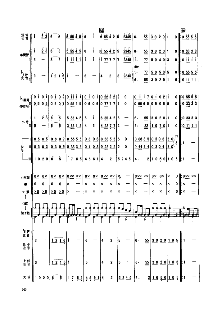 人民军队忠于党(管乐合奏)