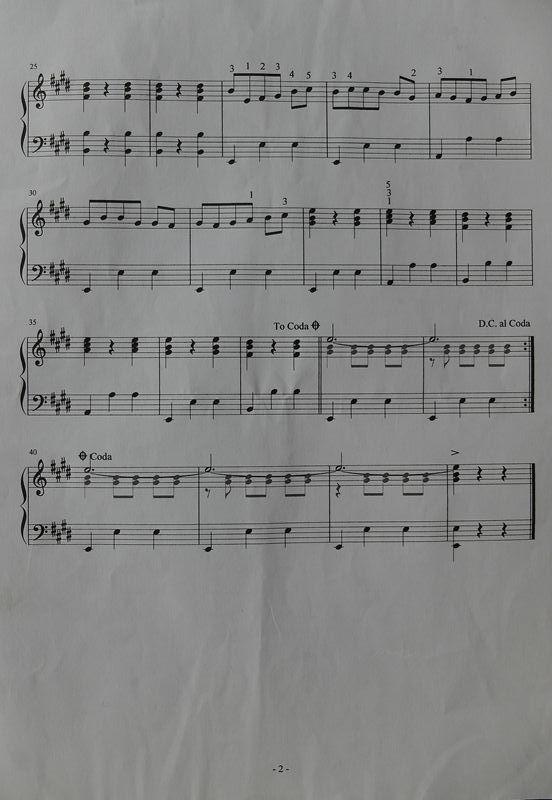 玛依拉五线谱小提琴