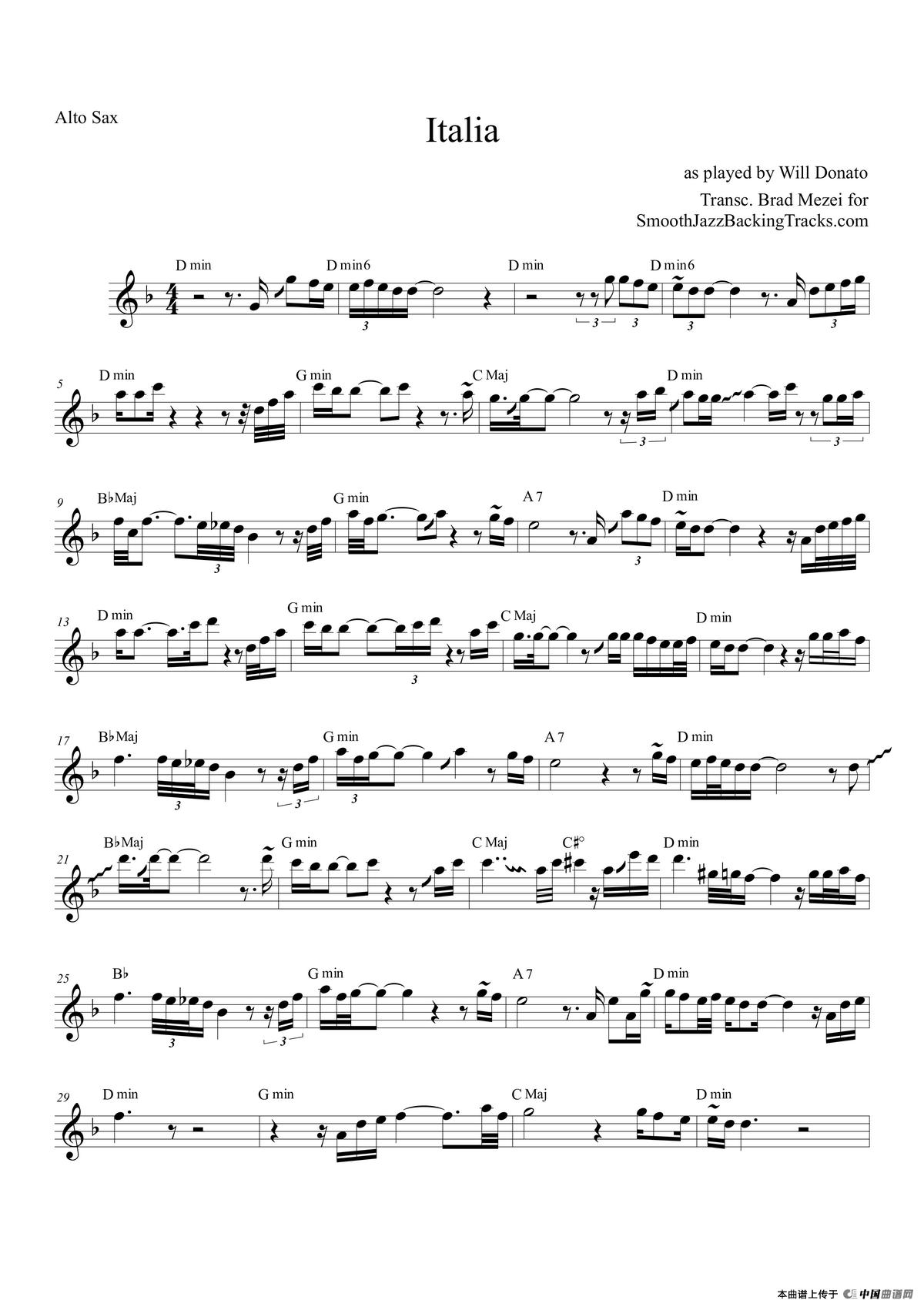 音乐谱背景素材