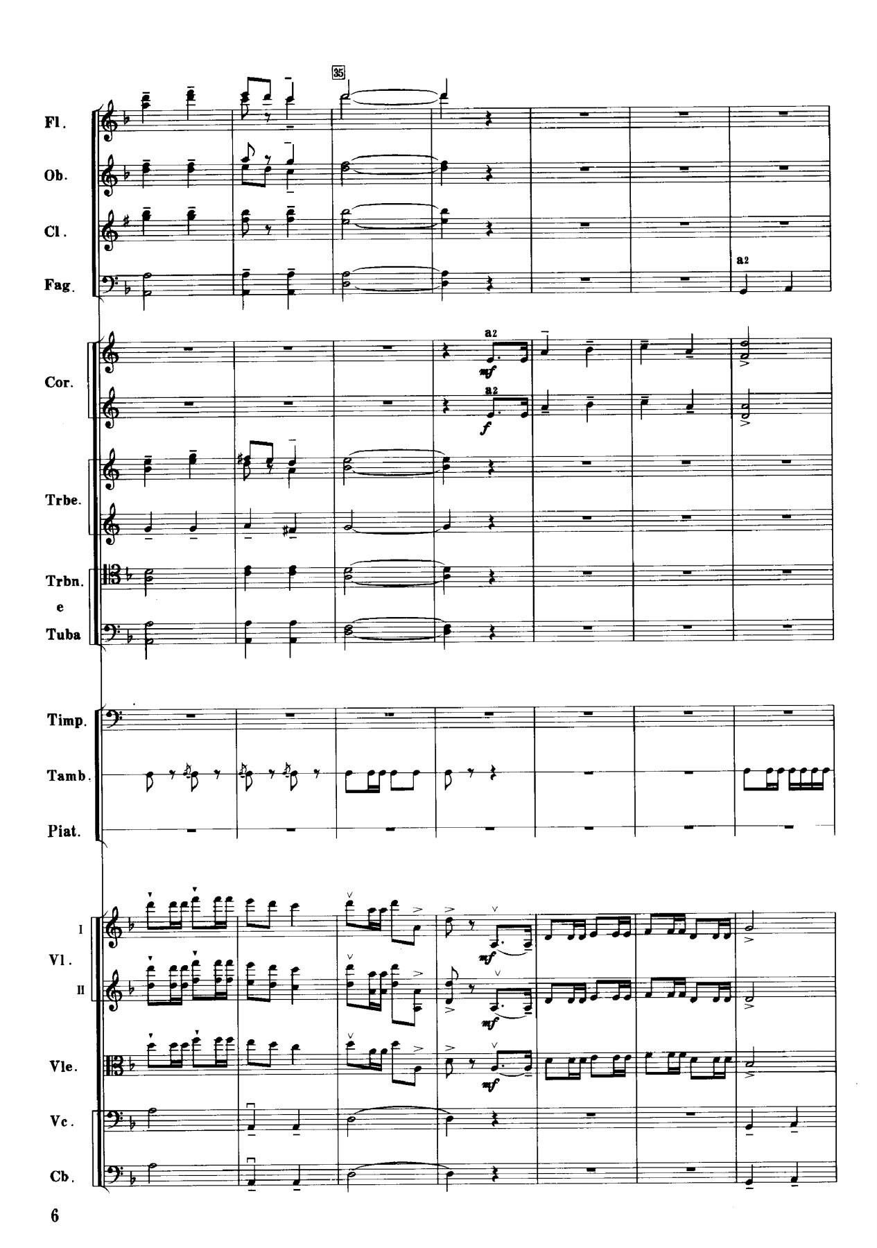 序曲(管弦乐总谱)