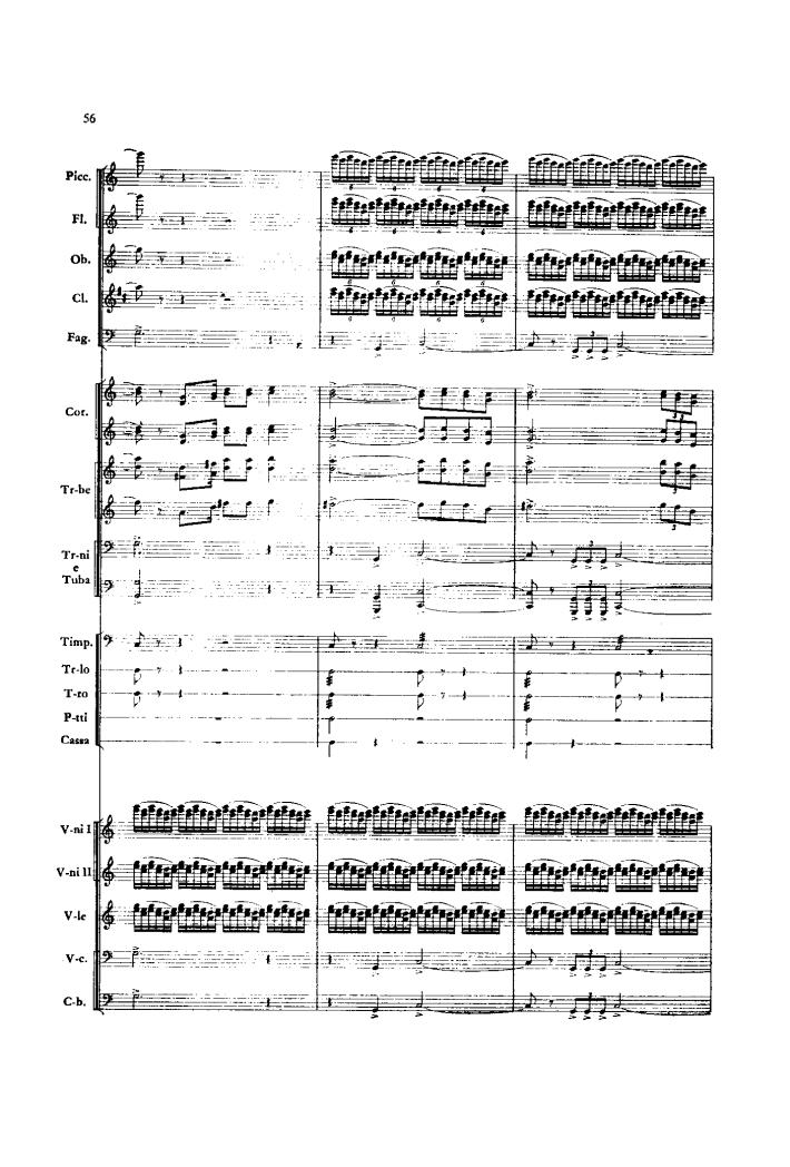 红旗颂(序曲 管弦乐总谱)