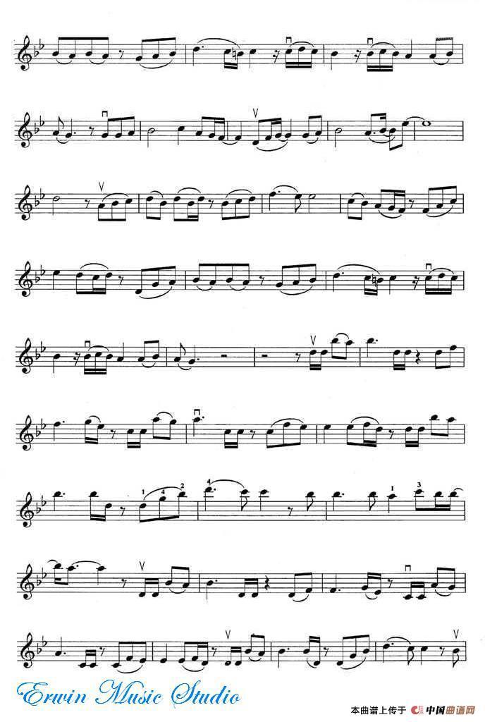 月半小夜曲_小提琴谱_用户传谱   搜谱——打造全国最