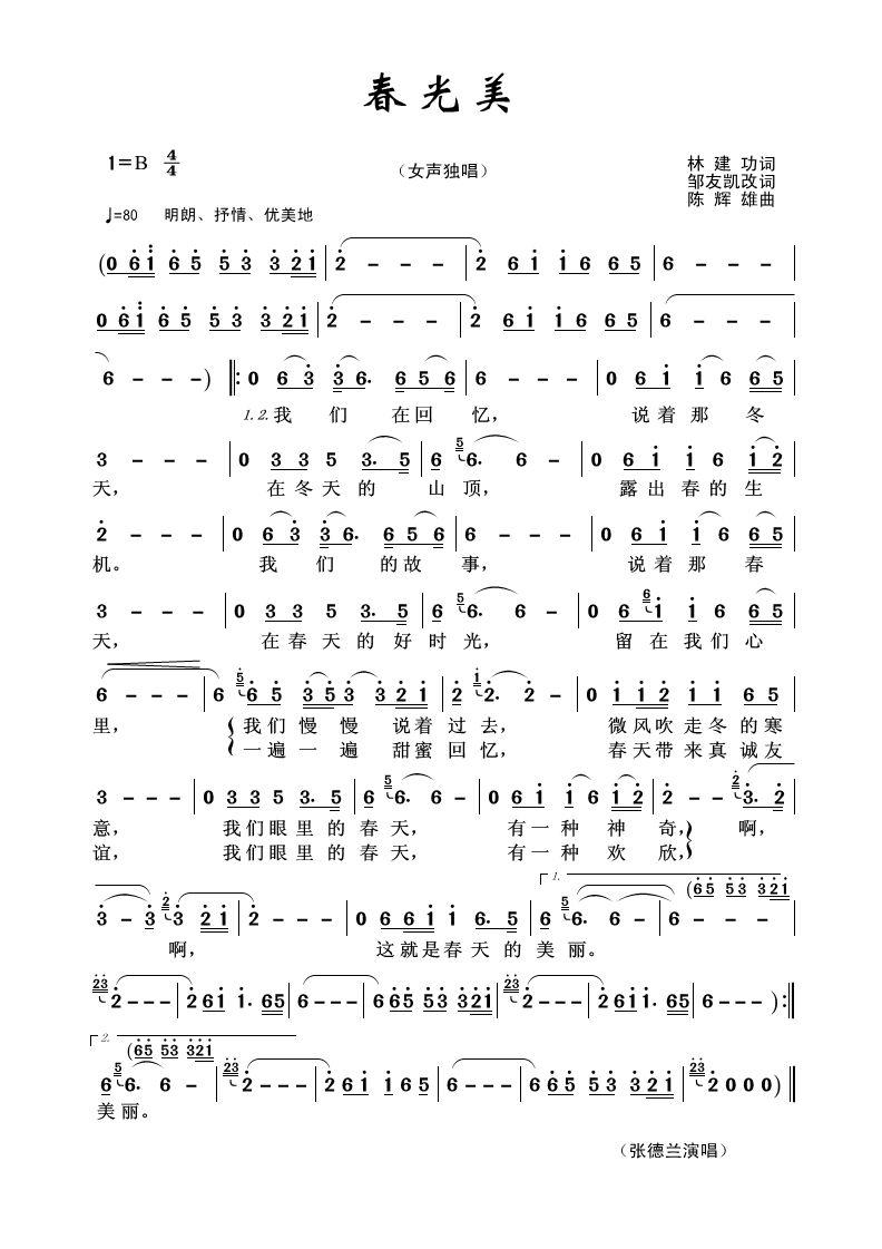 春光美 轻音乐 (二胡,吉他,笛子)(google可搜视频的)