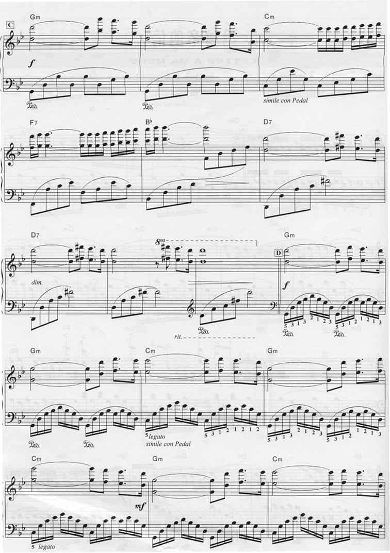 降央卓玛 妈妈的曲谱-给母亲的信 全屏看谱