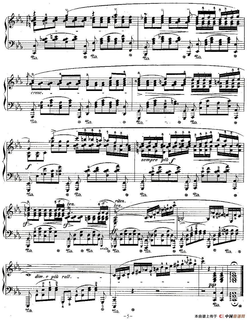 C小调夜曲Op.48 1