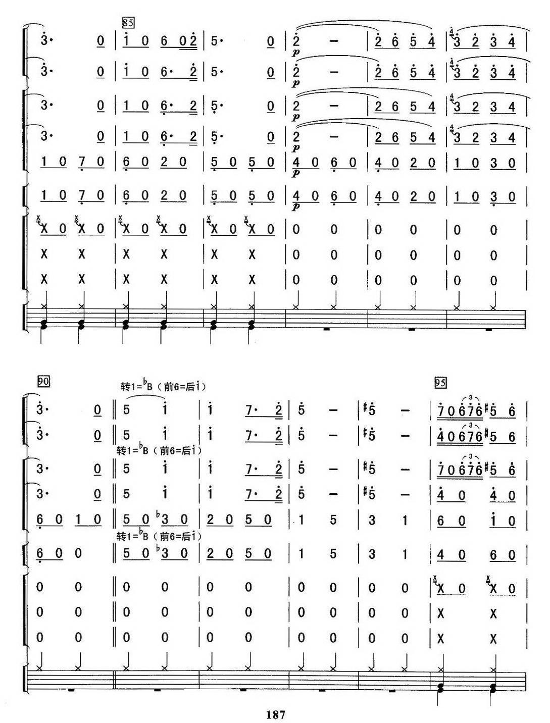 卡门序曲(总谱)